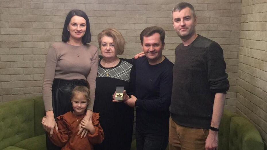 Украденный орден ольховатского фронтовика нашли в США и вернули родным