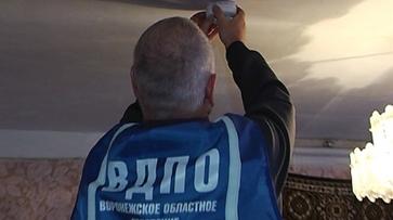 Воронежские спасатели поставили пожарные датчики в домах многодетных семей