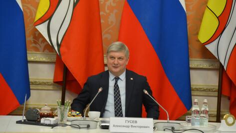 Губернатор рассказал о кадровой политике в правительстве Воронежской области