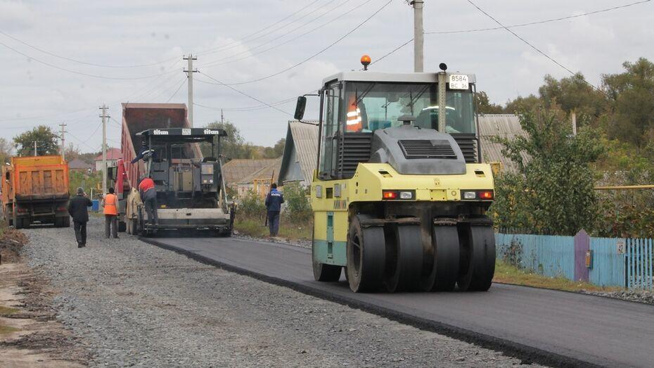 В хохольском селе отремонтируют дороги на 3 улицах