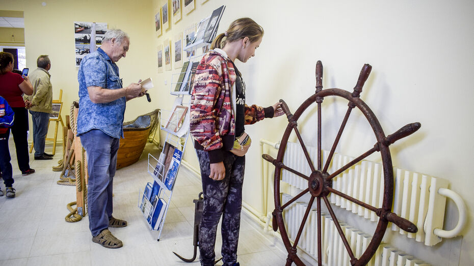В лискинском селе Нижний Икорец открыли музей военно-морского флота