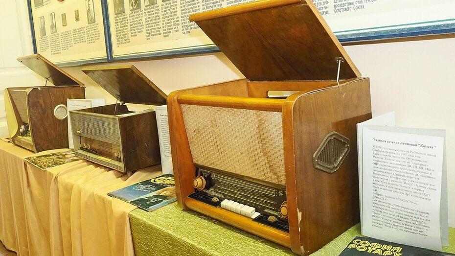 Экспозицию радиол впервые представили в Бутурлиновском краеведческом музее