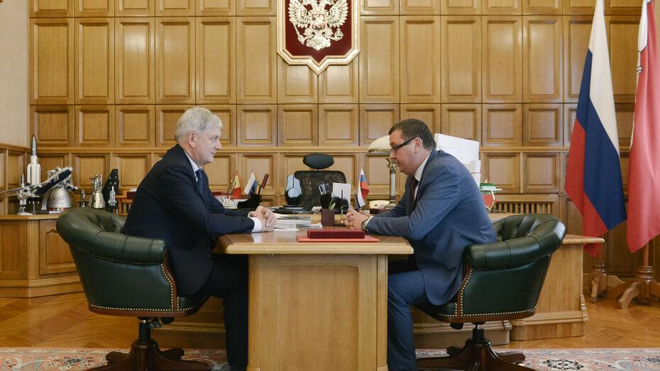 Глава Воронежской области наградил ректора ВГТУ Сергея Колодяжного