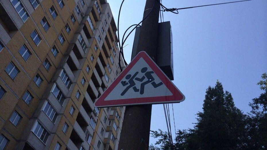 В 2015 году в Воронеже поставили около тысячи новых дорожных знаков