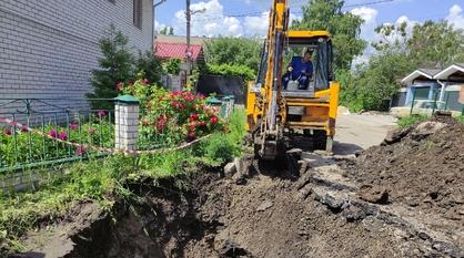 Коммунальную аварию в Коминтерновском районе Воронежа пообещали устранить к вечеру
