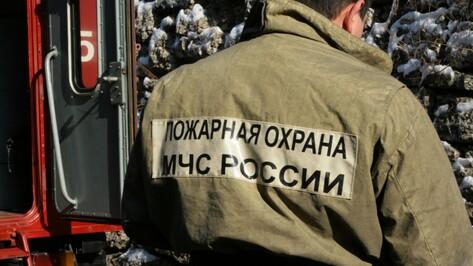 В Богучарском районе из-за короткого замыкания загорелись 2 авто