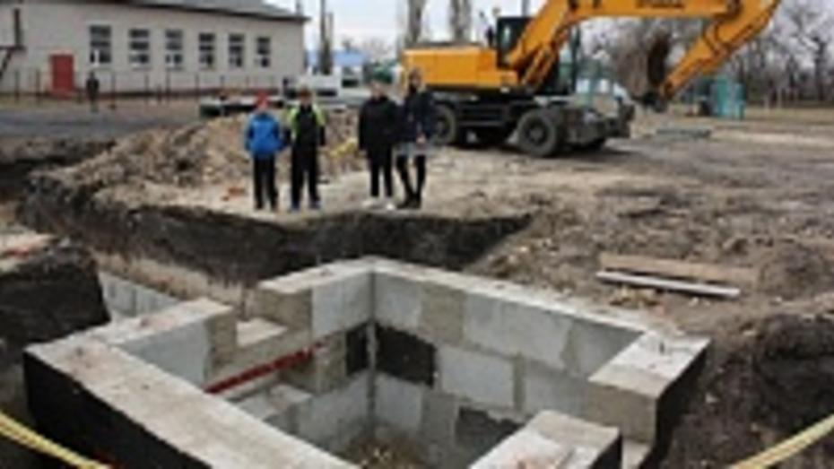 В Ольховатском районе заложили фундаменты новых газовых котельных
