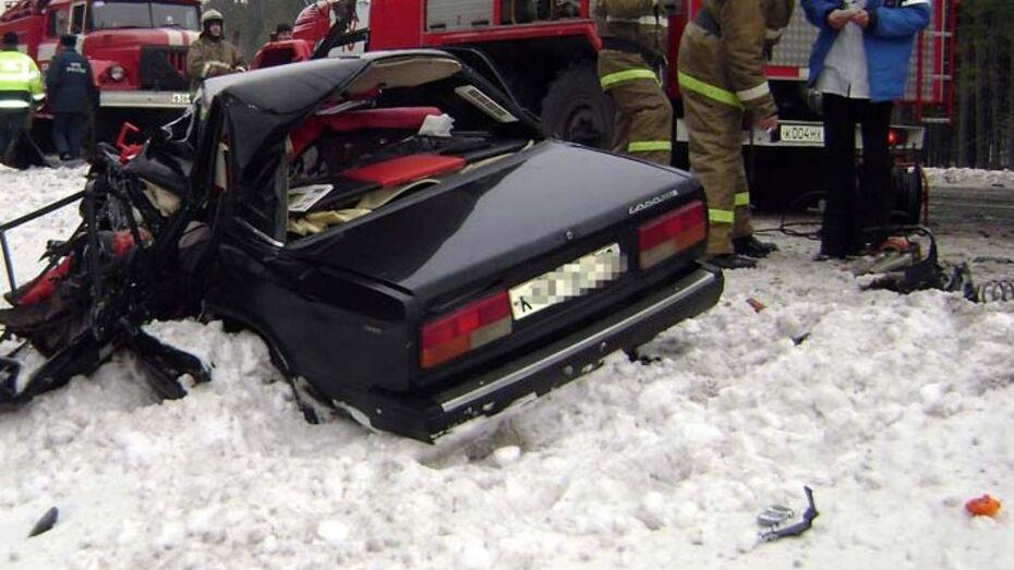 В ДТП в Воронежской области пострадали 4 человека