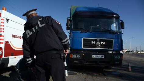 Дорожники взвесили фуры на воронежских трассах
