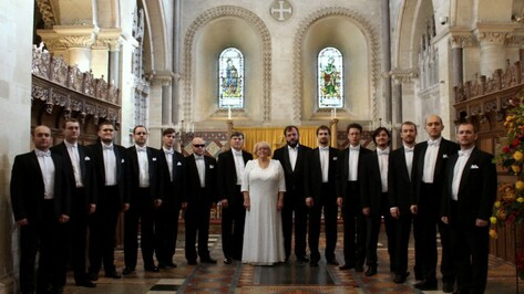 Мужской хор Воронежской филармонии выступил в 7 городах Великобритании