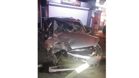 В Воронеже пьяный водитель устроил ночное ДТП с 3 пострадавшими
