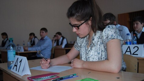 Богучарские одиннадцатиклассники написали пробный ЕГЭ по русскому языку