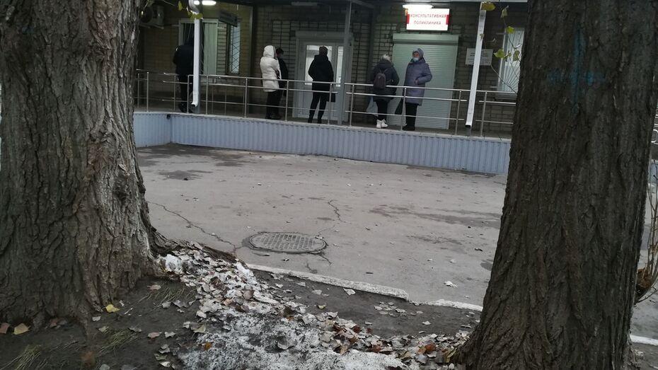 Воронежский облздрав объяснил очередь на КТ на улице