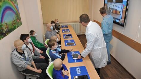 В Воронежской детской облбольнице открылся интерактивный учебный класс