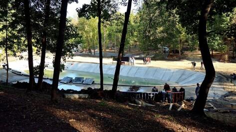 Воронежские строители обновят пруд в парке «Динамо» до холодов