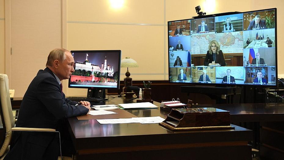 Владимир Путин призвал сократить срок тестирования на коронавирус