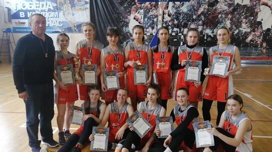 Эртильские баскетболистки победили в межрегиональном турнире «Весенняя капель»