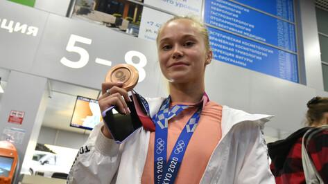 Почетным гражданином Воронежа стала олимпийская чемпионка Ангелина Мельникова