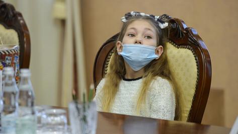 Двум многодетным семьям в Воронеже вручили ордена «Родительская слава»