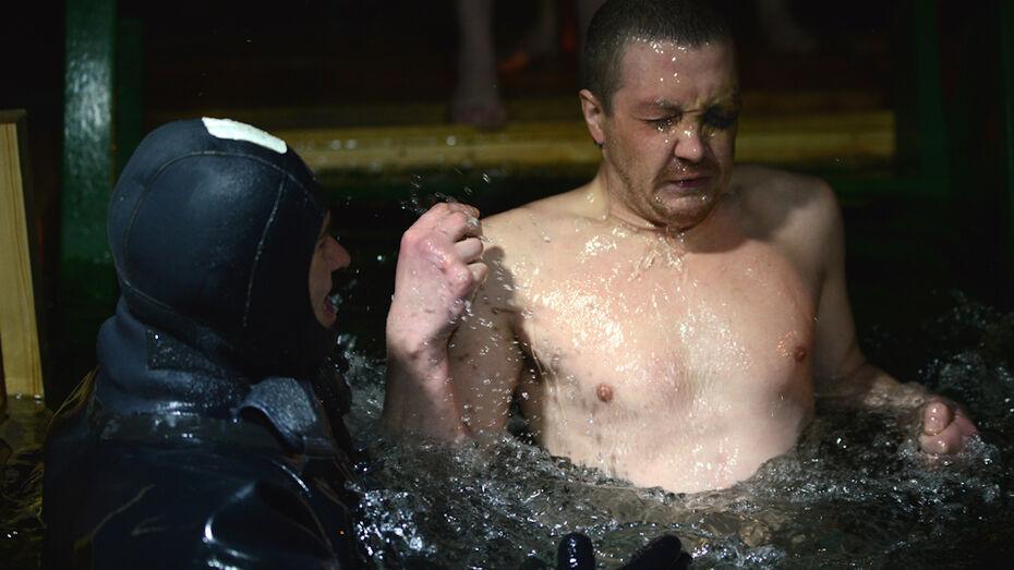 Крещение в Воронеже: Правый берег (ФОТО)