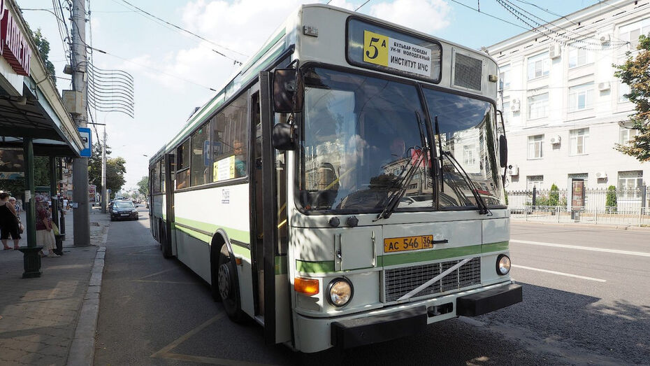 Из-за ремонта теплотрассы в Воронеже поменяли 7 автобусных маршрутов