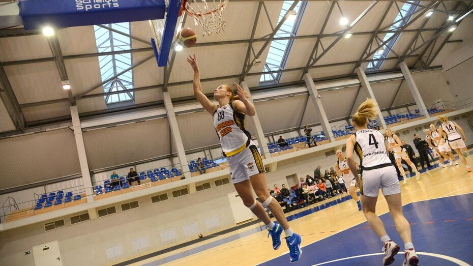 Воронежские баскетболистки проиграли команде из Казани