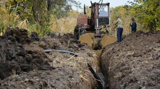 В Острогожске отремонтировали водопровод в районе железнодорожного вокзала