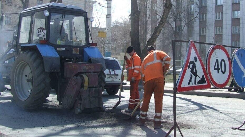 Власти Воронежа опубликовали список дорожных работ на 19 апреля