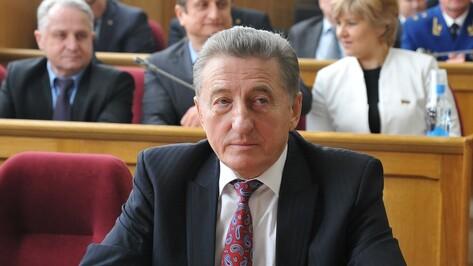 Сенатор Сергей Лукин отказался от мандата депутата Воронежской облдумы