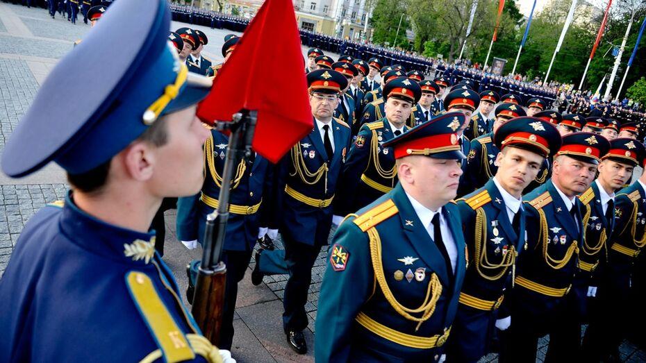 На Параде Победы воронежцы увидят новые образцы военной техники