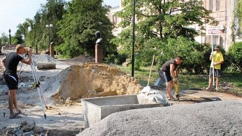 В Калаче реконструируют Мемориал памяти и Аллею Героев