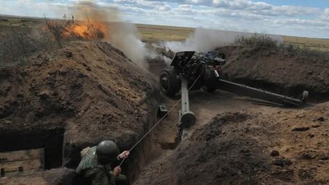 Под Воронежем на полигоне «Погоново» прошли первые артиллерийские стрельбы