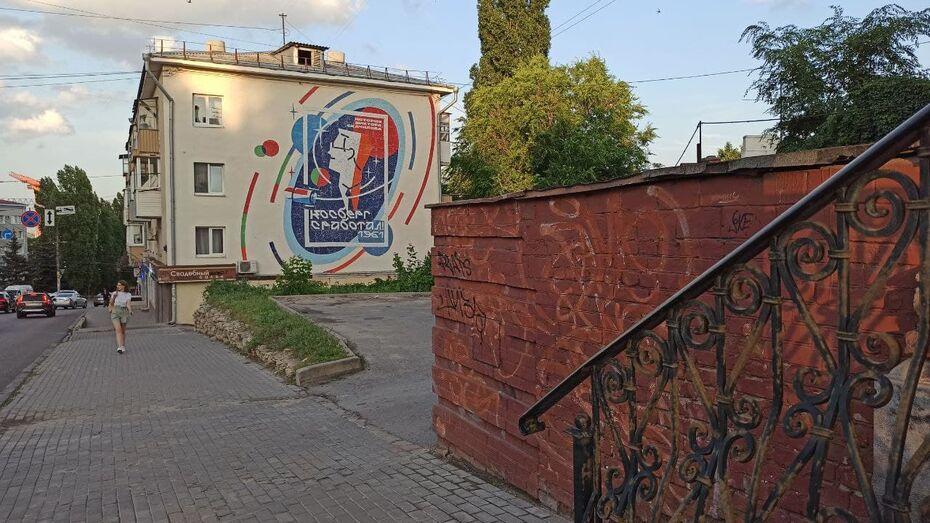 В Воронеже появилась огромная мозаика «Косберг сработал»