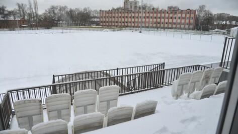 Власти Воронежа выделят до 20 млн рублей на монтаж дорожек и ремонт арки стадиона «Чайка»