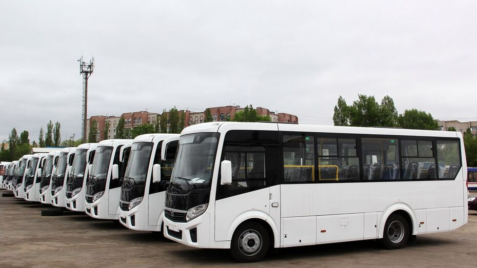 В Воронеже на маршрут №105 вышли 4 новых автобуса