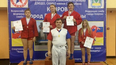 Таловская самбистка завоевала «золото» всероссийского турнира