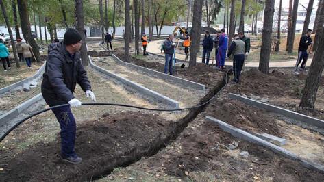 В Коминтерновском районе Воронежа благоустроят 7 скверов