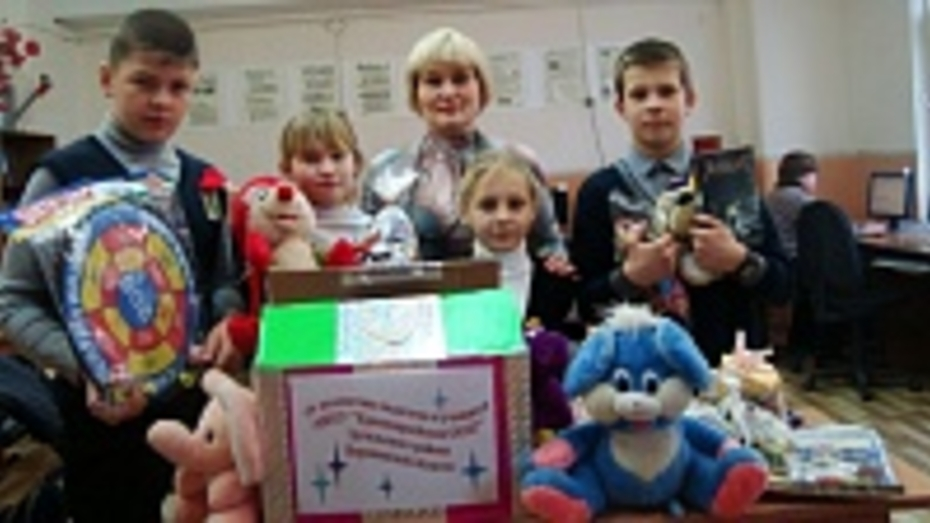 Юные эртильцы откликнулись на акцию «Воронежские дети – детям Новороссии»
