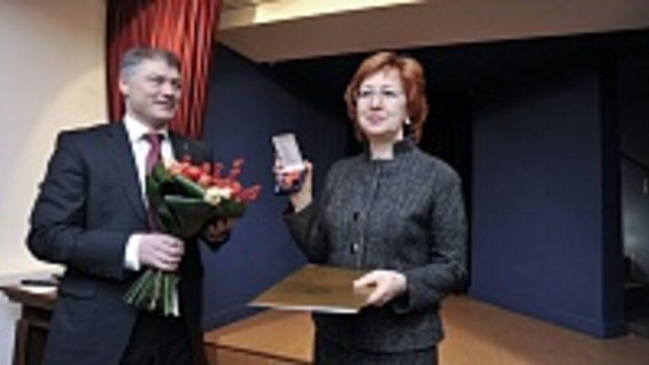 Татьяне Гордеевой вручили медаль императорского ордена Святой Анны