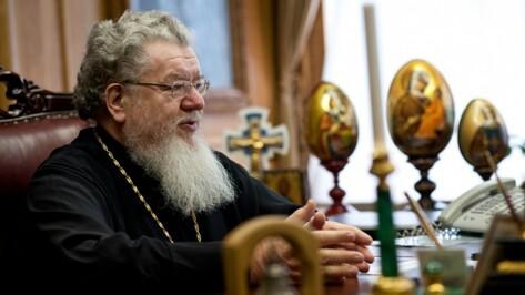 Митрополит Сергий поздравил воронежцев с Днем славянской письменности и культуры
