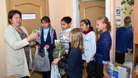В Грибановке прошла благотворительная акция «Учебники детям»