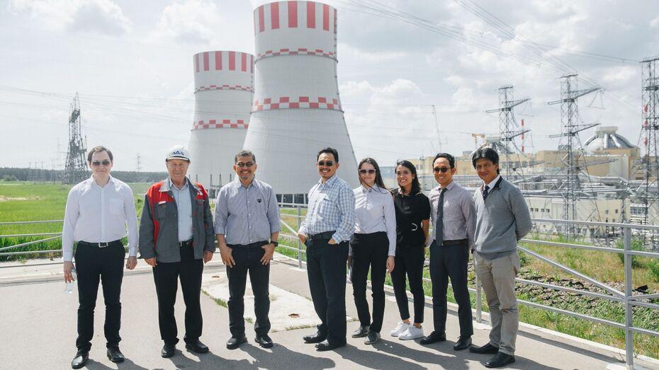 Делегация из Индонезии познакомилась с передовыми технологиями Нововоронежской АЭС