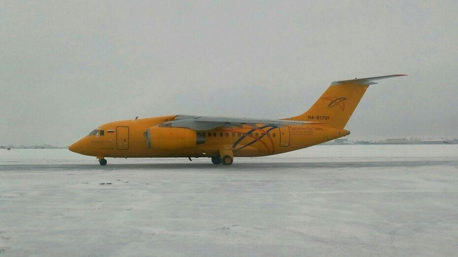 Воронежскому авиазаводу вернули из Саратова самолет Ан-148