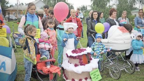 В Борисоглебске выбрали самые красивые коляски