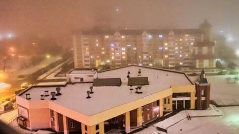 Желтый уровень опасности объявили из-за тумана и гололеда в Воронежской области