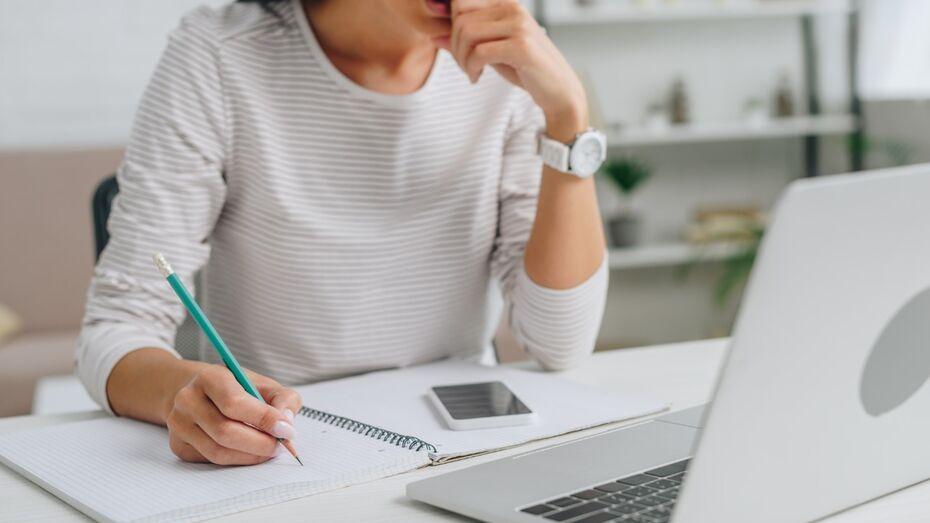 В Воронежской области женщины учатся онлайн чаще