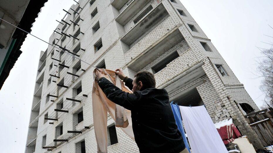 В Воронеже волонтеры обустроят восьмиэтажный дом под приют для бездомных