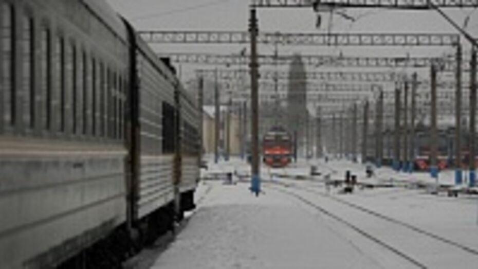 В Таловском районе 25-летний мужчина попал под поезд