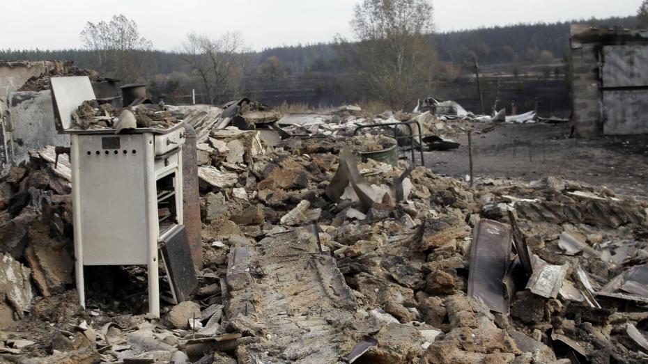 «Хуже войны». Как жители воронежской Николаевки пережили пожар, уничтоживший 50 домов