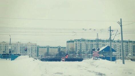 Воронежцы сообщили о закрытии железнодорожного переезда на Машмете